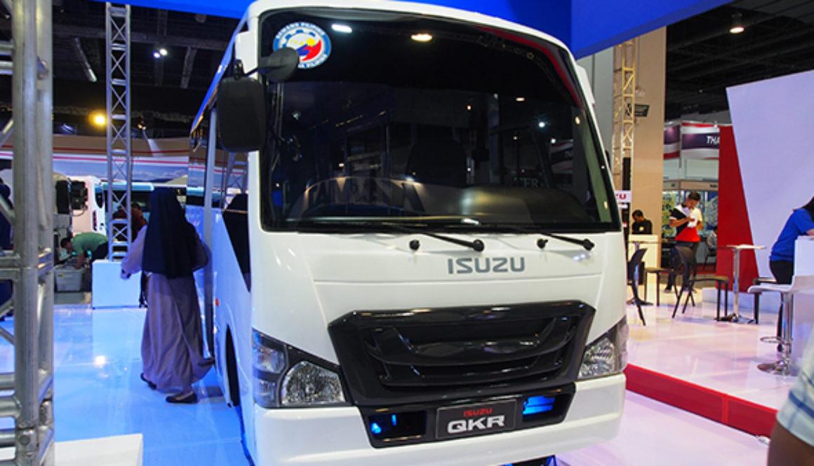 Isuzu's modernized jeepney
