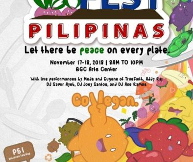 Vegfest Pilipinas 2018 Poster
