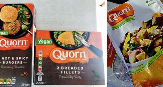 Qorn meat substitute